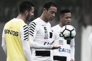 Voltando de lesão, Renato e Ricardo Oliveira ficam à disposição no Santos para enfrentar Cruzeiro