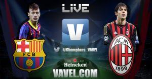 Barcelona vs Milan en vivo y en directo online