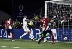 Karim Benzema, el mejor jugador blanco de la supercopa de Europa