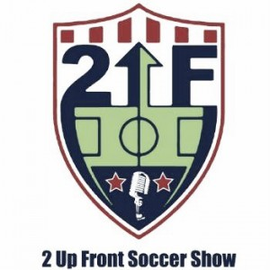 2 Up Front #81 (USWNT/WNY Flash Lynn Williams, Chicago Fire Johnathan Campbell, The Equalizer Dan Lauletta)