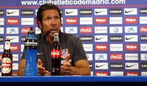 """Simeone: """"Es saludable para nuestra identidad que sigan los jugadores"""""""