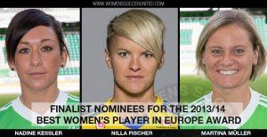 Fischer, Kessler y Müller, mejores jugadoras europeas de la temporada