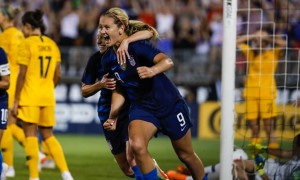 Horan's late goal rescues a point for the USWNT against Australia