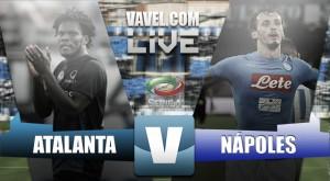 El Napoli encaja su primera derrota en Bérgamo