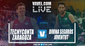 Resumen Tecnyconta Zaragoza vs Divina Seguros Joventut en Liga Endesa 2018 (86-92)