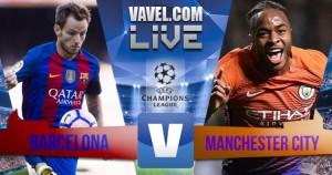 No reencontro com Guardiola, Messi marca três e Barcelona goleia Manchester City