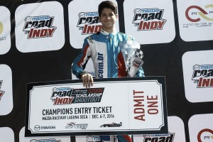 Marcel Coletta disputa final do Mazda Road to Indy em Laguna Seca