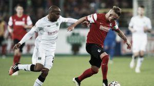 Freiburg e Hannover ficam no empate em partida movimentada