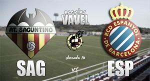 Atlético Saguntino - Espanyol B: duelo de necesidades y necesitados