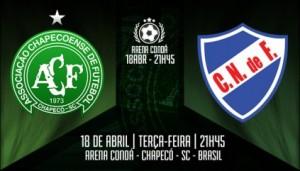 Resultado Chapecoense x Nacional na Copa Libertadores 2017 (1-1)