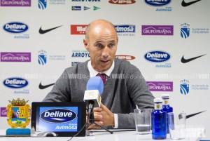 """Calderón: """"Si tenemos el balón y finalizamos las jugadas, es imposible que nos cojan"""""""