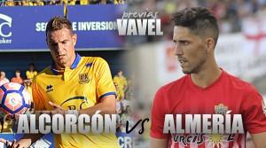 Previa Alcorcón - Almería: duelo para remontar el vuelo