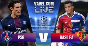 Paris Saint-Germain - Basilea diretta, LIVE Champions League 2016/17: 3-0 risultato finale