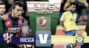 Resumen Huesca 2-2 Las Palmas en Copa del Rey 2016