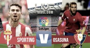 Resumen del Sporting 3-1 Osasuna de Liga 2016