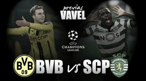 Previa Borussia Dortmund - Sporting de Portugal: los 'Leões' visitan Alemania sin complejos