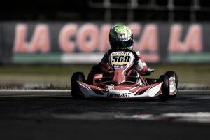 Rafael Câmara ficar no Top 15 na etapa de La Conca do WSK