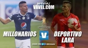 Previa Millonarios vs. Deportivo Lara: ¡A pelear la clasificación!