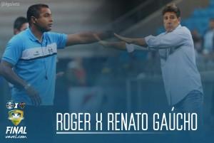 Roger Machado e Renato Portaluppi: o conceito e o aprimoramento
