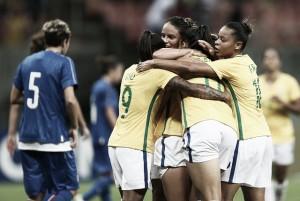 Brasil vence Itália e garante vantagem na final do Torneio Internacional de Manaus