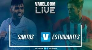 Resultado Santos x Estudiantes pela Copa Libertadores 2018 (2-0)