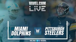 Resultado Pittsburgh Steelers 30 x 6 Miami Dolphins pela NFL 2016/2017