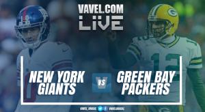 Green Bay Packers x New York Giants ao vivo online na NFL 2016/2017