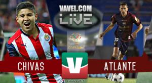 Chivas y Atlante empatan en su primer encuentro de Copa