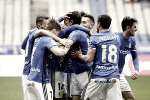 Real Oviedo - RCD Mallorca: puntuaciones del Real Oviedo, jornada 23 Segunda División 2017