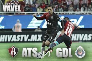 Previa Atlas - Chivas: Rivalidad de Occidente en San Antonio