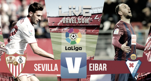 Un Eibar osado cae en Sevilla
