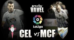 RC Celta de Vigo - Málaga CF: primer test para el 'gato'