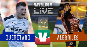 Resultado y goles del Querétaro 3-0 Alebrijes de la Copa MX 2017