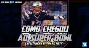 Super Bowl LI: caminho do New England Patriots à final da NFL