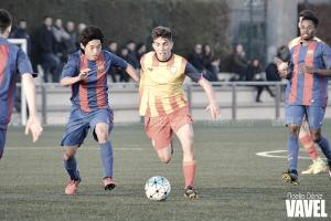 Los juveniles azulgranas pueden con la Sub-18 catalana