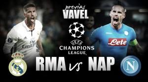 Previa Real Madrid - Nápoles: el fútbol y la épica, citados en el Bernabéu