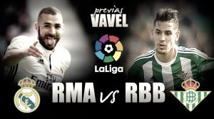 Previa Real Madrid - Betis: afianzar objetivos
