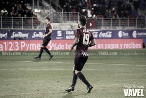 Antonio Luna es duda para el partido frente a Osasuna