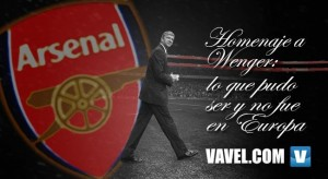 Homenaje a Wenger: lo que pudo ser y no fue en Europa