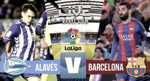 Resumen Alavés 0-6 Barcelona en la Liga 2017