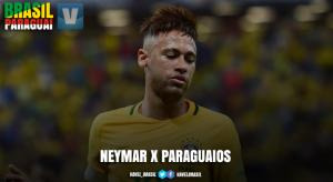 Retrospecto: Neymar nunca balançou as redes contra o Paraguai