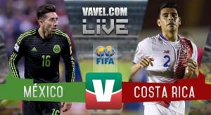 Resultado y goles del México 2-0 Costa Rica en Eliminatorias 2017