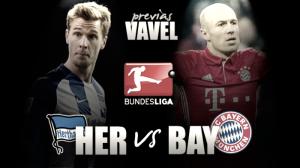 Previa Hertha Berlin - Bayern Múnich: la irregularidad capitalina contra la fiabilidad bávara