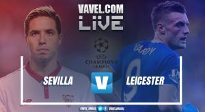 Resultado Sevilla x Leicester pela UEFA Champions League 2017 (2-1)