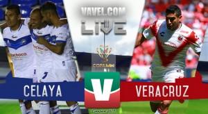 Resultado y goles del Celaya 1-1 Veracruz de la Copa MX 2017
