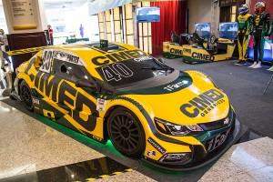 Cimed Racing apresenta carro para temporada 2018 da Stock Car