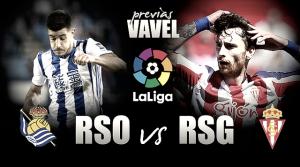 Previa Real Sociedad vs Sporting de Gijón: ganar para creer