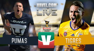 Resultado y goles del Pumas 0-3 Tigres de la Concachampions 2017
