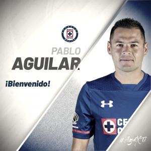 Pablo Aguilar es nuevo jugador del Cruz Azul