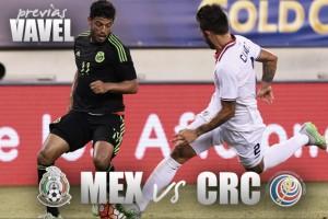 Previa México - Costa Rica: Golpe al líder del hexagonal